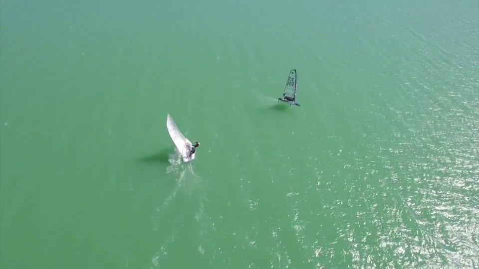 Un drone survole la Ganguise, des images superbes !