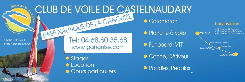 La Ganguise – Ecole Française de Voile de Castelnaudary